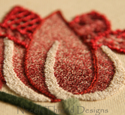 Hand Embroidery: freestyle stitches in wool, perle and stranded threads